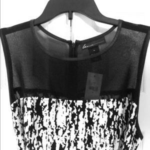Cute black and white Lane Bryant dress